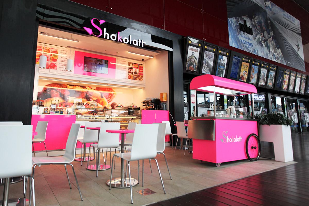 Centro comercial la maquinista shokolatt - Maquinista centro comercial ...